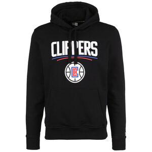 NBA Los Angeles Clippers Team Logo Kapuzenpullover Herren, schwarz / weiß, zoom bei OUTFITTER Online