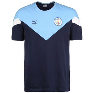 Manchester City Iconic MCS T-Shirt Herren, dunkelblau, zoom bei OUTFITTER Online