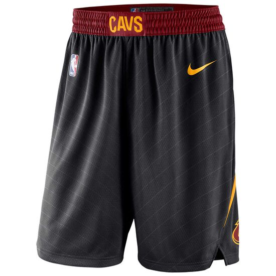 NBA Cleveland Cavaliers Basketballshort Herren, schwarz / rot, zoom bei OUTFITTER Online
