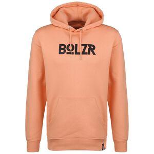 Hoodie Herren, orange / schwarz, zoom bei OUTFITTER Online