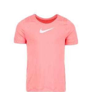 Pro Trainingsshirt Kinder, rosa / weiß, zoom bei OUTFITTER Online