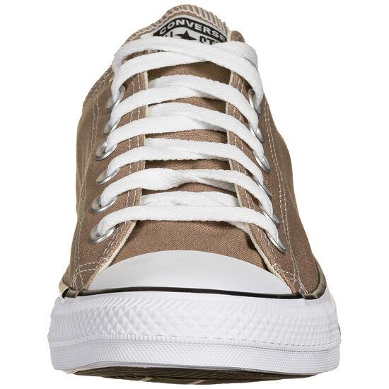 Chuck Taylor All Star Low Sneaker, braun / weiß, zoom bei OUTFITTER Online