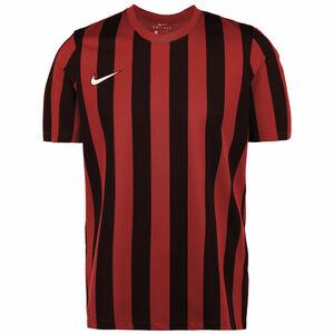 Striped Division IV Fußballtrikot Herren, rot / schwarz, zoom bei OUTFITTER Online