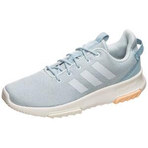 Racer Sneaker Damen, grau / hellblau, zoom bei OUTFITTER Online