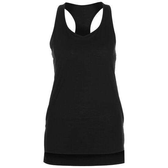 Yoga Layer Trainingstop Damen, schwarz / dunkelgrau, zoom bei OUTFITTER Online