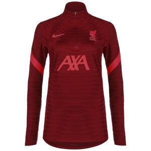 FC Liverpool Strike Elite Trainingssweat Damen, dunkelrot / neonrot, zoom bei OUTFITTER Online