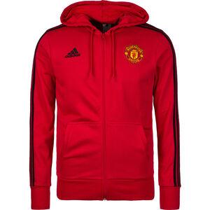 Manchester United 3S Kapuzenjacke Herren, Rot, zoom bei OUTFITTER Online