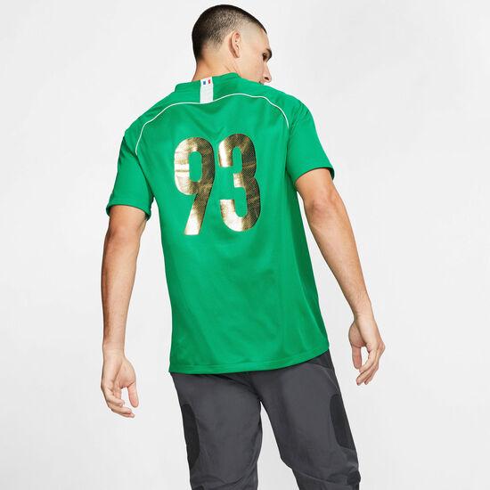 Kylian Mbappé Dry Fußballtrikot Herren, grün / gold, zoom bei OUTFITTER Online