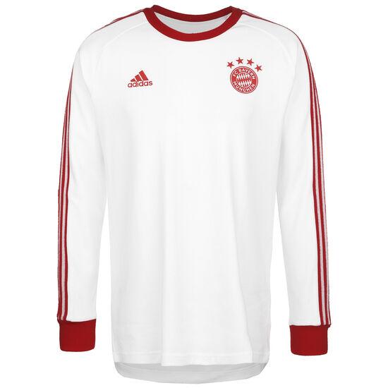 FC Bayern München Icons Longsleeve Herren, weiß / rot, zoom bei OUTFITTER Online