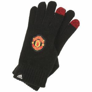 Manchester United Handschuh, schwarz / rot, zoom bei OUTFITTER Online