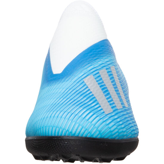X 19.3 LL TF Fußballschuh Herren, hellblau / silber, zoom bei OUTFITTER Online