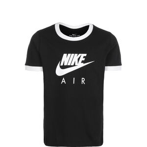 Air Logo Ringer T-Shirt Kinder, schwarz / weiß, zoom bei OUTFITTER Online