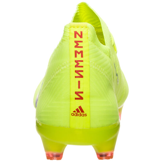Nemeziz 18.1 FG Fußballschuh Herren, neongelb / blau, zoom bei OUTFITTER Online