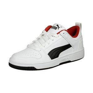 Rebound Lay Up Sneaker Kinder, weiß / schwarz, zoom bei OUTFITTER Online