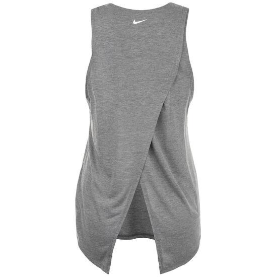 Yoga GRX Trainingstank Damen, grau / weiß, zoom bei OUTFITTER Online