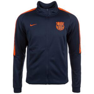 FC Barcelona Authentic Track Trainingsjacke Herren, dunkelblau / neonrot, zoom bei OUTFITTER Online