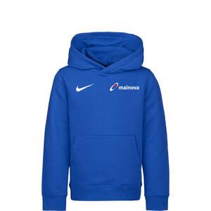 Mainova Team Club 20 Hoodie Kinder, blau / weiß, zoom bei OUTFITTER Online