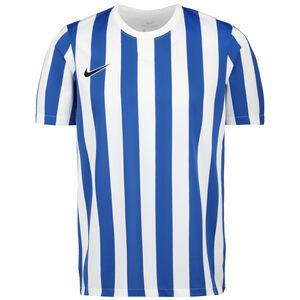 Striped Division IV Fußballtrikot Herren, weiß / blau, zoom bei OUTFITTER Online