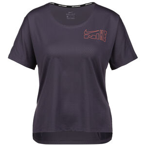 Icon Clash City Laufshirt Damen, lila / apricot, zoom bei OUTFITTER Online