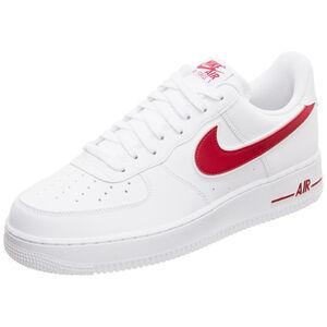 Air Force 1 '07 Sneaker Herren, weiß / rot, zoom bei OUTFITTER Online