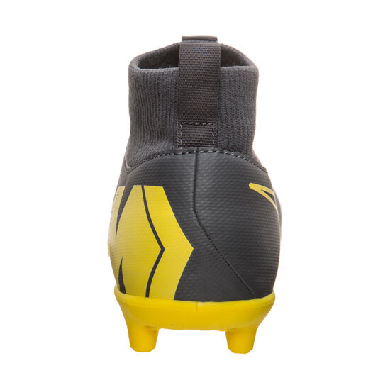 Mercurial Superfly VI Club MG Fußballschuh Kinder, dunkelgrau / gelb, zoom bei OUTFITTER Online