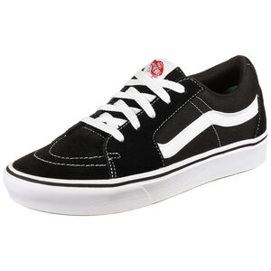 Sk8-Low ComfyCush Sneaker, schwarz / weiß, zoom bei OUTFITTER Online