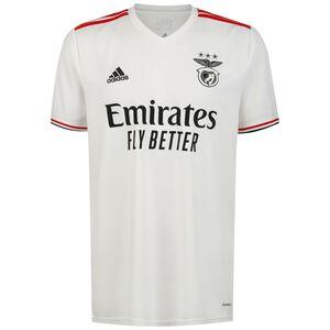 Benfica Lissabon Trikot Away 2021/2022 Herren, weiß / rot, zoom bei OUTFITTER Online