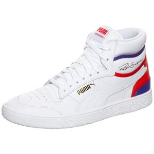 Ralph Sampson Mid Sneaker, weiß / lila, zoom bei OUTFITTER Online