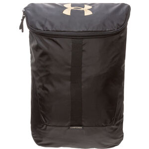 Expandable Rucksack, schwarz / gold, zoom bei OUTFITTER Online