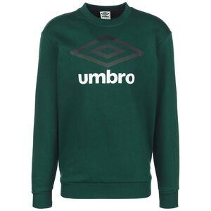 Large Logo Sweatshirt Herren, dunkelgrün / weiß, zoom bei OUTFITTER Online