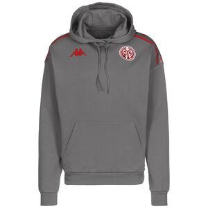 1. FSV Mainz 05 Kapuzenpullover Herren, grau / rot, zoom bei OUTFITTER Online