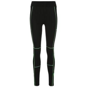 Swoosh Leggings Damen, schwarz / grün, zoom bei OUTFITTER Online