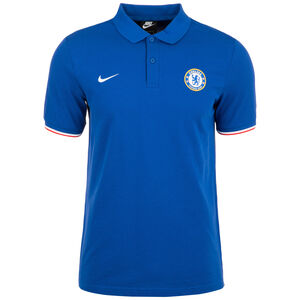 FC Chelsea Crest Poloshirt Herren, blau / weiß, zoom bei OUTFITTER Online