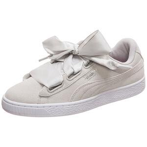Suede Heart Galaxy Sneaker Damen, beige / silber, zoom bei OUTFITTER Online