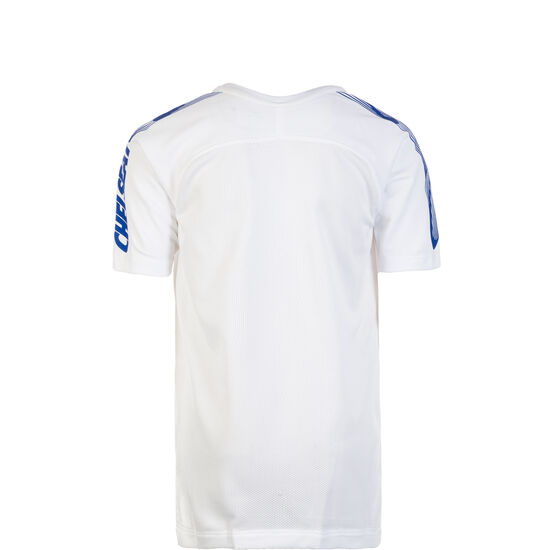 FC Chelsea Breathe Squad Trainingsshirt Kinder, weiß / blau, zoom bei OUTFITTER Online