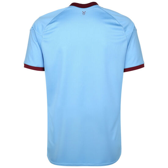 West Ham United Trikot Away 2020/2021 Herren, blau / bordeaux, zoom bei OUTFITTER Online