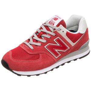 ML574-D Sneaker Herren, rot / weiß, zoom bei OUTFITTER Online