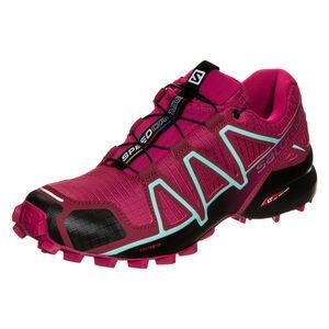 Speedcross 4 Trail Laufschuh Damen, Rot, zoom bei OUTFITTER Online