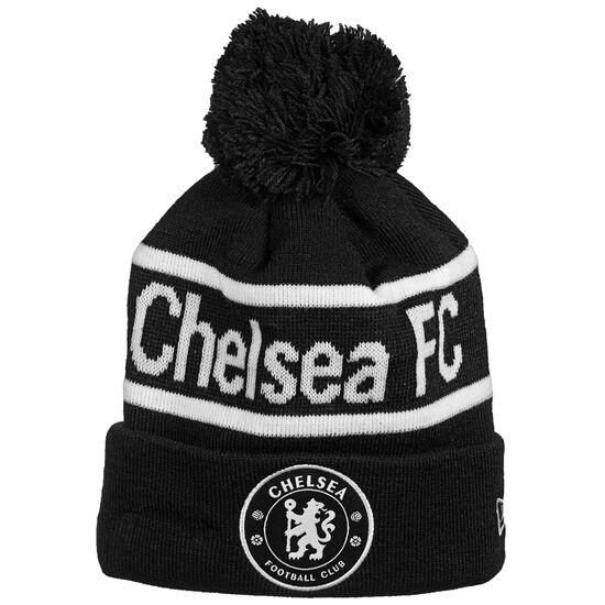 FC Chelsea Wordmark Cuff Knit Bobble Beanie, , zoom bei OUTFITTER Online