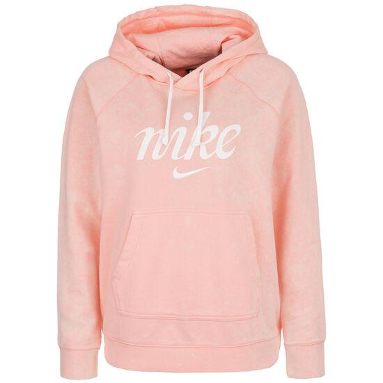Sportswear Kapuzenpullover Damen, altrosa / weiß, zoom bei OUTFITTER Online