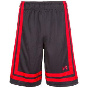 Baseline Basketballshort Herren, schwarz / rot, zoom bei OUTFITTER Online