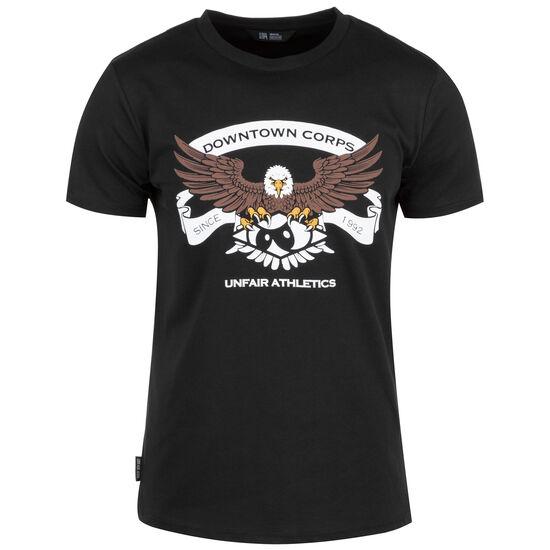 DC Established T-Shirt Herren, schwarz / weiß, zoom bei OUTFITTER Online