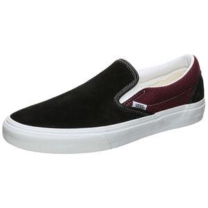 Classic Slip-On Sneaker, schwarz / bordeaux, zoom bei OUTFITTER Online