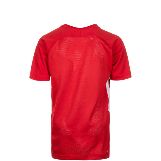 Dry Tiempo Premier Fußballtrikot Kinder, rot / weiß, zoom bei OUTFITTER Online