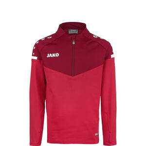 Champ 2.0 Ziptop Trainingssweat Kinder, rot / bordeaux, zoom bei OUTFITTER Online