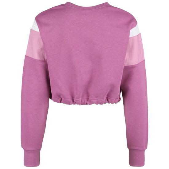 Heritage Rundhals Fleecepullover Damen, rosa, zoom bei OUTFITTER Online