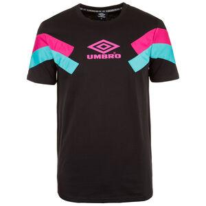 Chevron T-Shirt Herren, schwarz / pink, zoom bei OUTFITTER Online