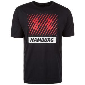HeatGear Hamburg Big Logo Trainingsshirt Herren, Schwarz, zoom bei OUTFITTER Online