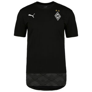 Borussia Mönchengladbach Casuals T-Shirt Herren, schwarz / weiß, zoom bei OUTFITTER Online