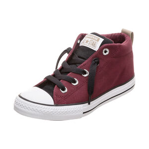 Chuck Taylor All Star Street Mid Sneaker Kinder, Rot, zoom bei OUTFITTER Online